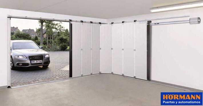 Puerta Seccional Hormann De Apertura Lateral Maxima Comodidad Y