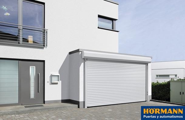 puerta enrollable rollmatic para garajes y comercios