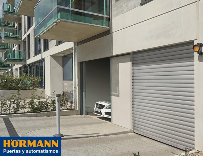 Aparador Blanco Madera ~ Puertas y rejas enrollables TGT Hörmann, una solución para garajes comunitarios que ahorra espacio