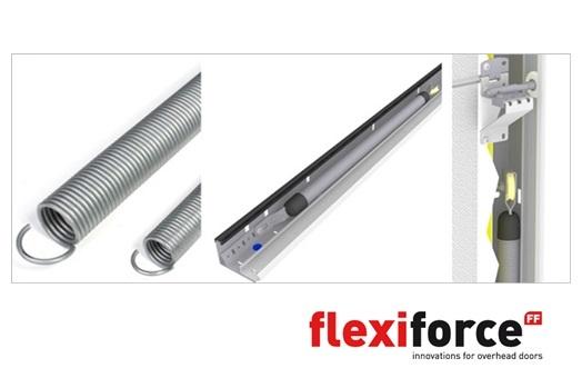 Flexiforce rsc t sistema residencial con muelles de - Muelles de puertas ...
