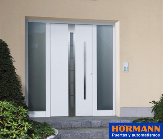 H rmann presenta la promoci n europea 2015 - Puertas de entrada metalicas precios ...
