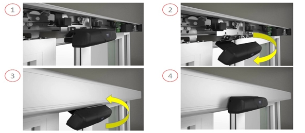 Metal blinds nuevas puertas autom ticas correderas con for Sistema anticalcare magnetico